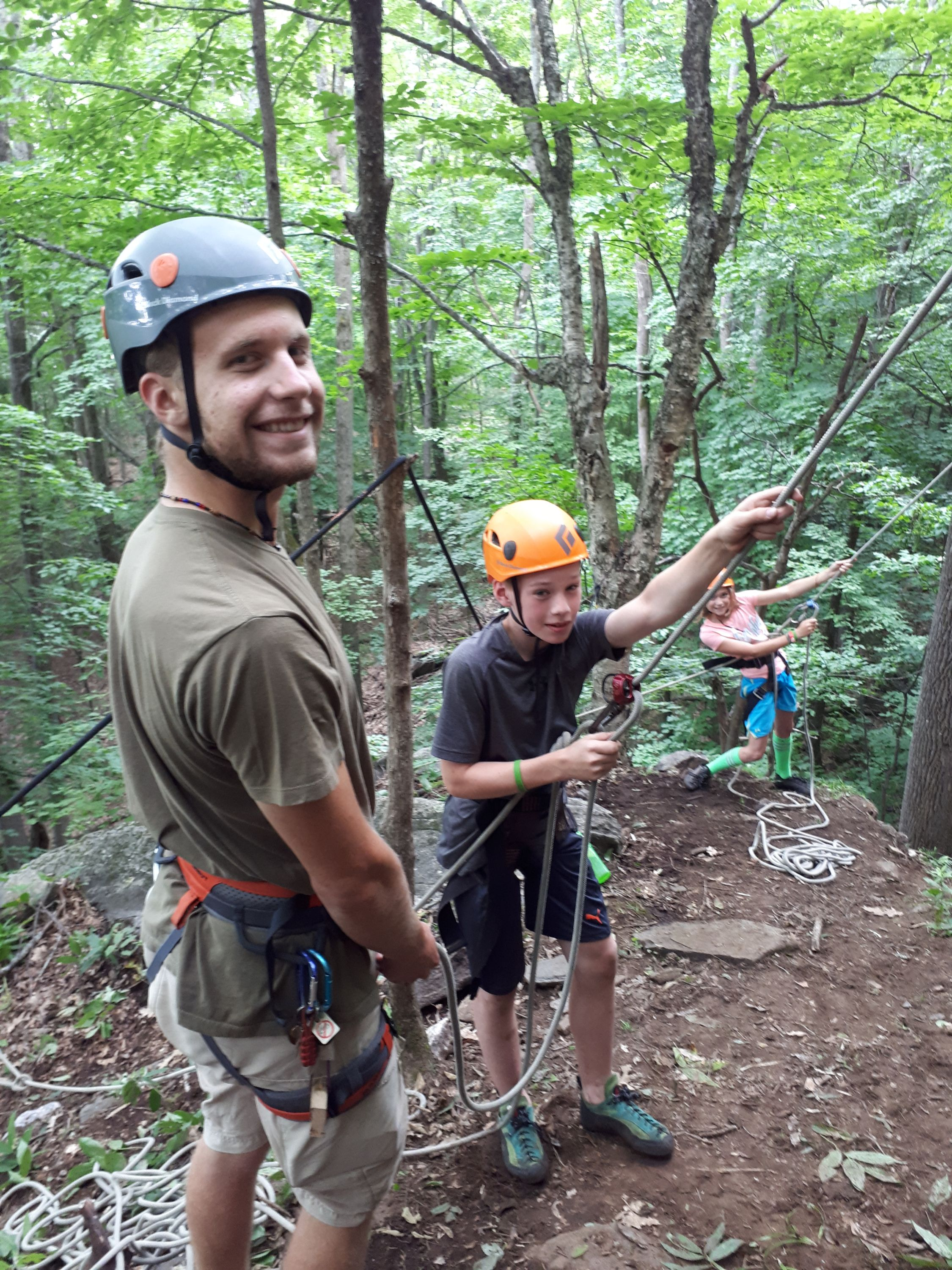 Climbing Club at Medeba Summer Camp